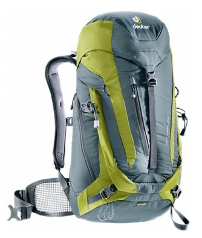 Batoh Deuter ACT Trail 24 granite-moss (3440115)