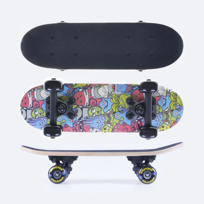 Mini skateboard Spokey MAYSTRO 43 x12,5 cm