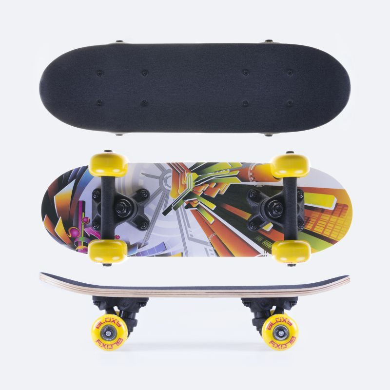 Mini skateboard Spokey bloxy 43 x12,5 cm