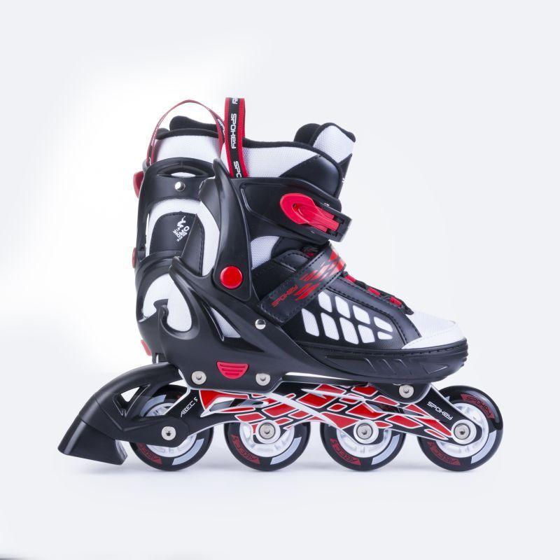 Kolieskové korčule Spokey Road čierne