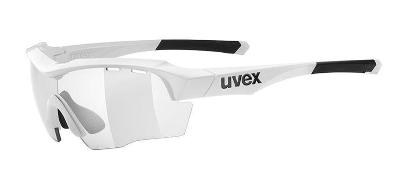 Športové okuliare Uvex Sportstyle 104 Vario - white / smoke (8801)