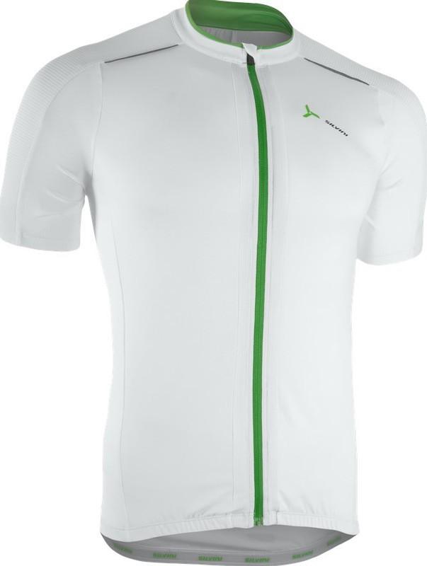 Pánsky cyklistický dres Silvini CENO MD1000 white-forest
