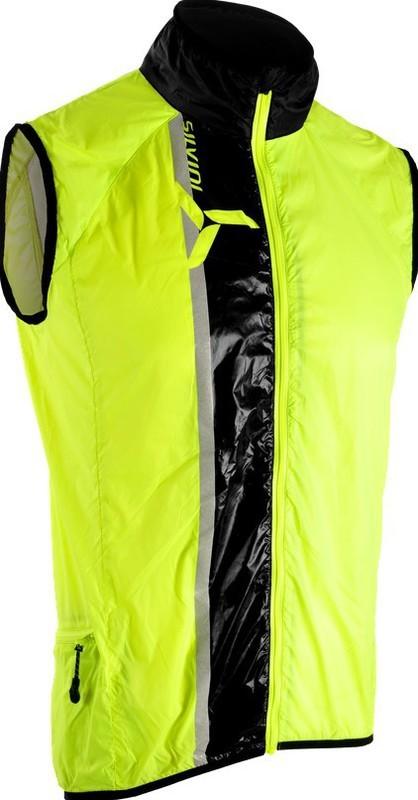 Cyklistická vesta Silvini GARCIA MJ803 neon-black S