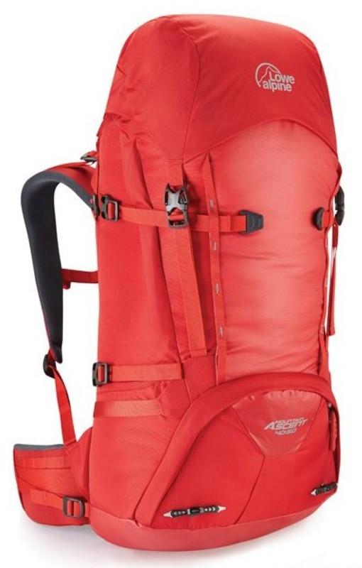 Batoh Lowe alpine Mountain Ascent 40:50 haute red / hr