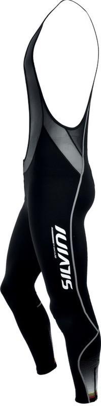 Pánske cyklistické nohavice Silvini TEAM TOP MP1030 black
