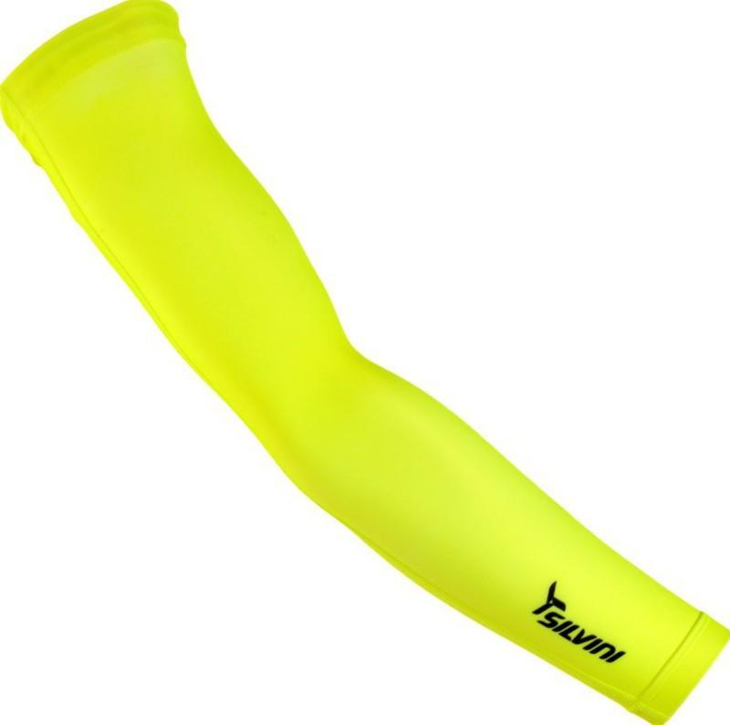 Cyklistické návleky na ruky Silvini ALPE UA1029 neon