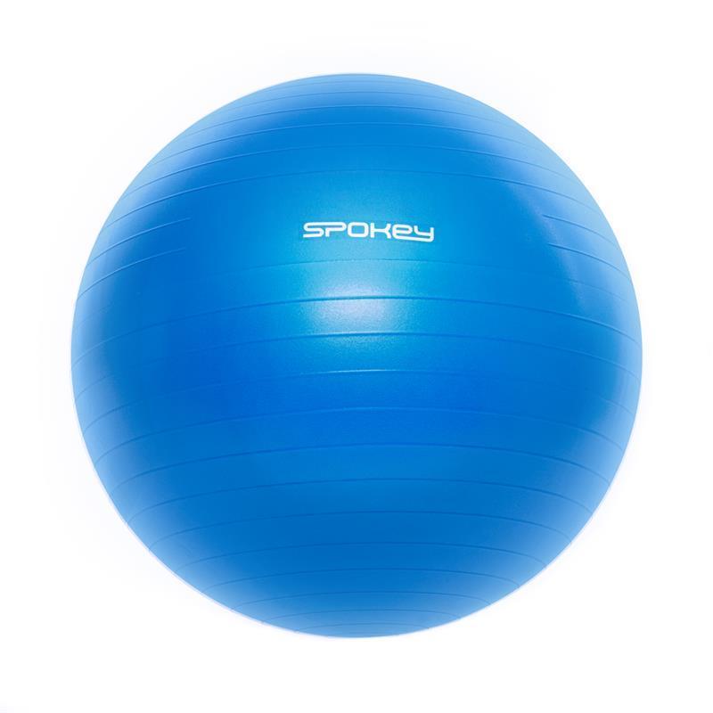Gymnastický lopta Spokey FITBALL III 65 cm vrátane pumpičky modrý