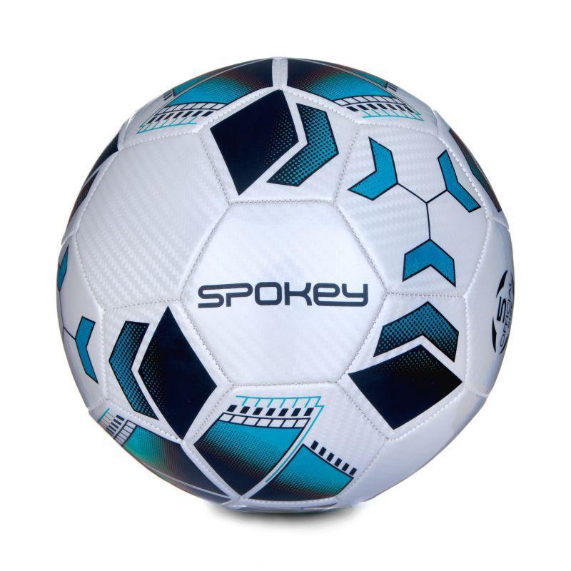 Futbalový lopta Spokey agility bielo-tyrkysový vel.4