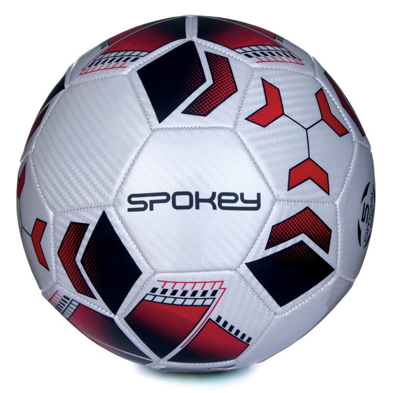 Futbalový lopta Spokey agility bielo-červený vel.4