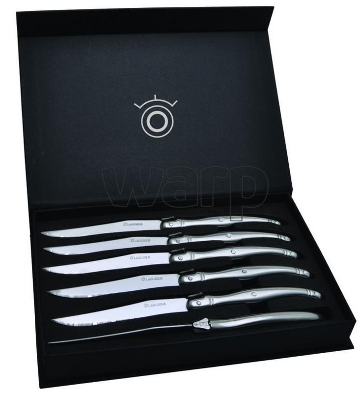 Laquiole sada 6-ti steakových nožov v darčekové kazete DUB122