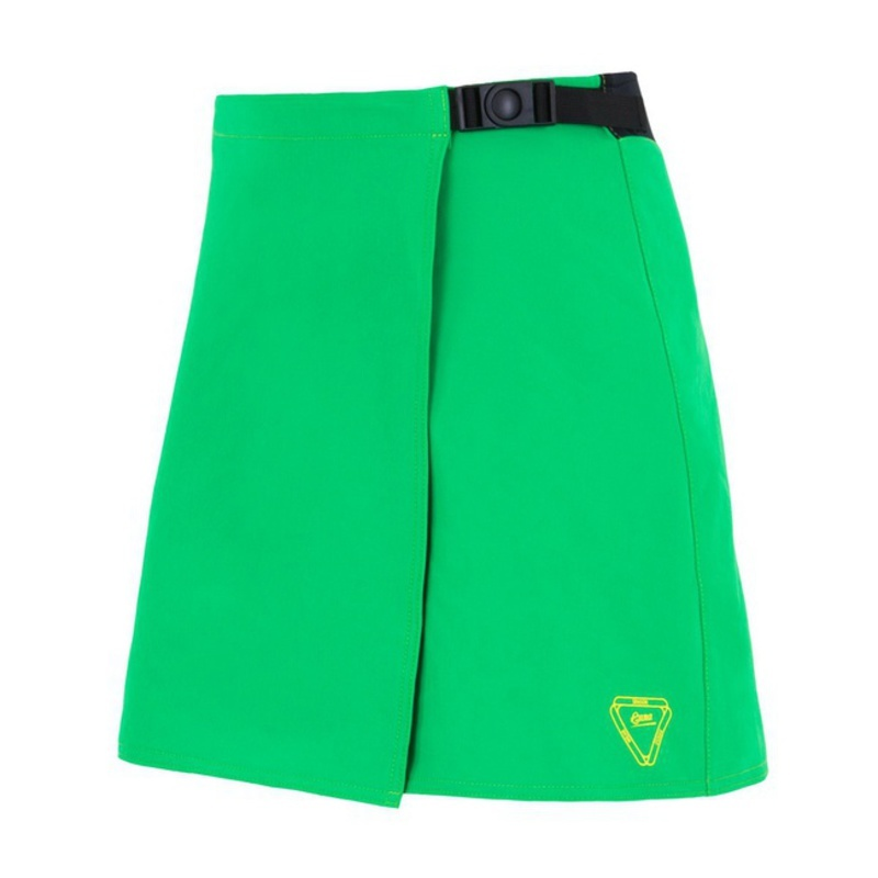 Dámska cyklistická sukňa Sensor CYKLO LUNA zelená 15100115 S