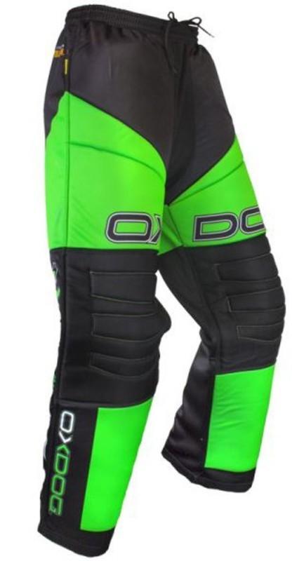 Brankárske nohavice OXDOG VAPOR GOALIE PANTS black / green