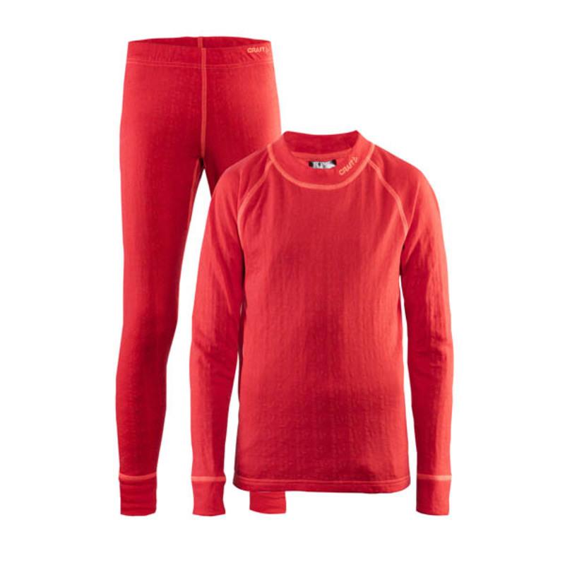 Set CRAFT Nordic Wool JR 1905356-452801 - oranžová