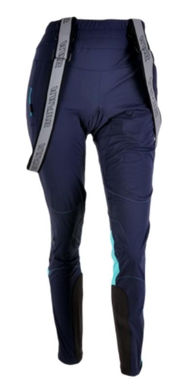 Dámske nohavice na bežky Silvini Ovesca Pro WP1103 navy-ocean XS