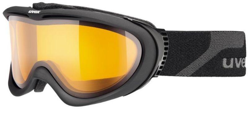 Lyžiarske okuliare Uvex UVEX COMANCHE, black mat / lasergold lite (4229)