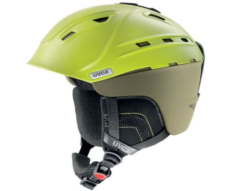 Lyžiarska helma UVEX P2US, mossy-green mat (S566178500*)