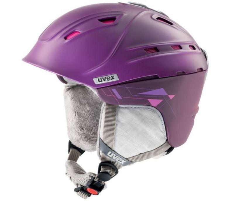 Lyžiarska helma UVEX P2US WL, purple / pink mat (S566178900*)