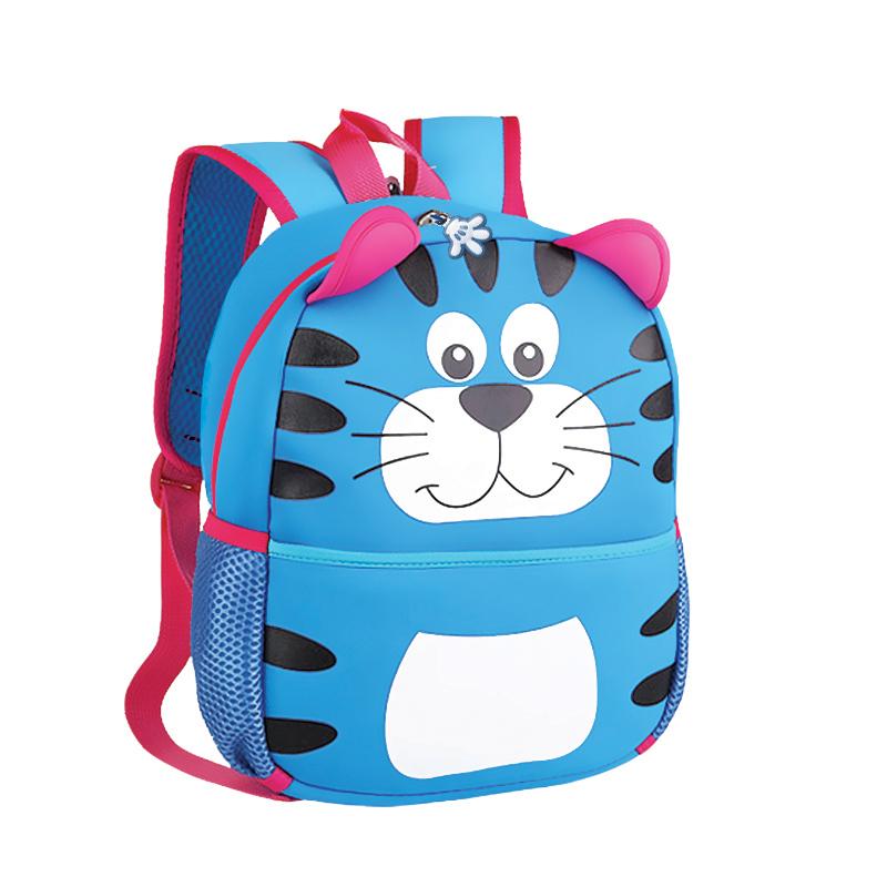 Batoh Spokey neoprénový - detský tiger modrý