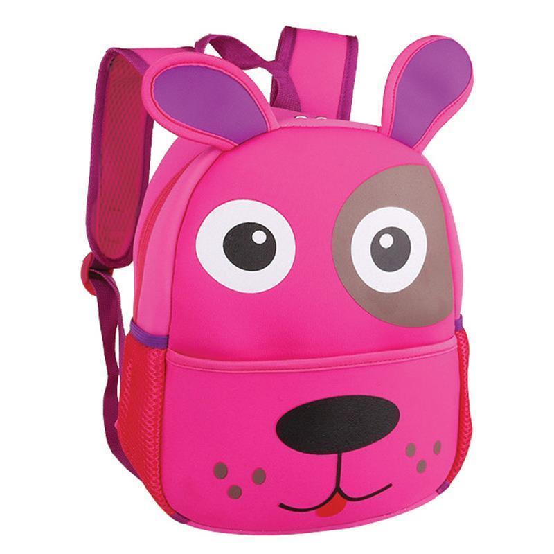 Batoh Spokey neoprénový - detský psík ružový