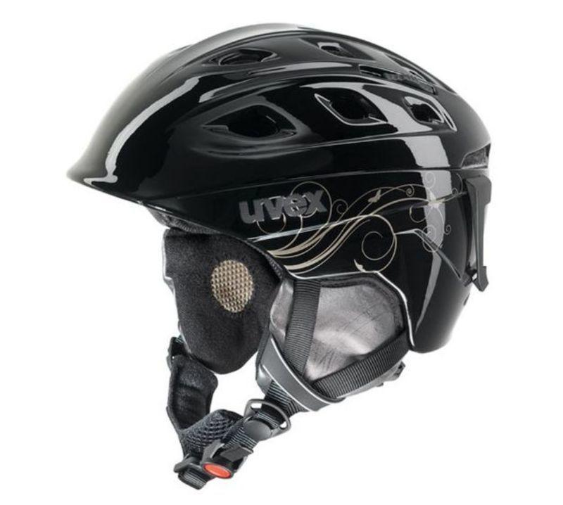 Lyžiarska helma UVEX Funride 2 LADY, black / gold (S566150260*)