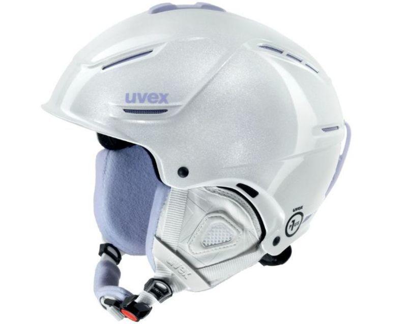 Lyžiarska helma UVEX P1US PRO WL, white skyfall (S566179100*)