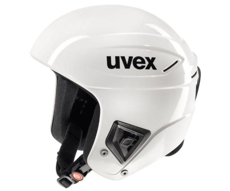Lyžiarska helma UVEX RACE +, všetko white (S566172110*)