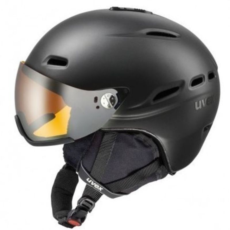 Lyžiarska helma UVEX HLMT 200, black mat (S566176440*)