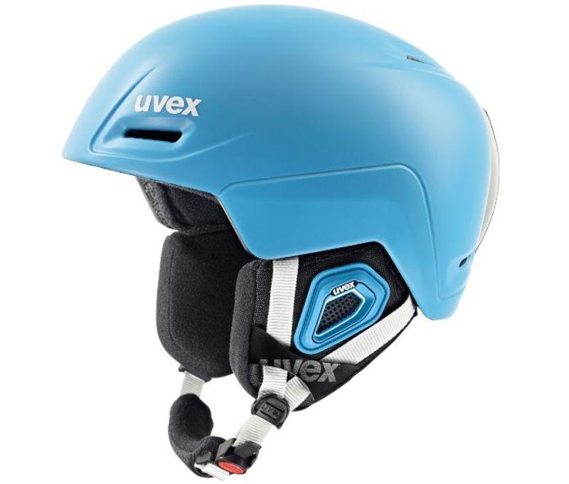 Lyžiarska helma UVEX JIMM, liteblue mat (S566206700*)