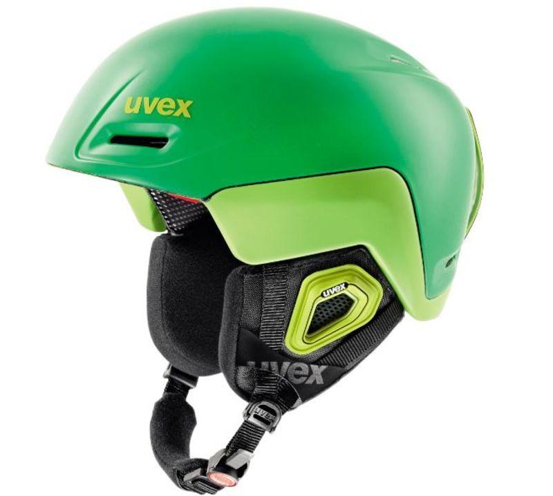 Lyžiarska helma UVEX JIMM OCTO +, green-lemon mat (S566205320*)