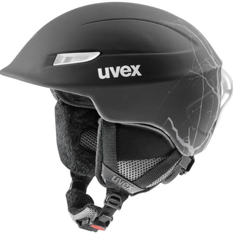 Lyžiarska helma UVEX GAMMA, black flash mat (S566189210*)
