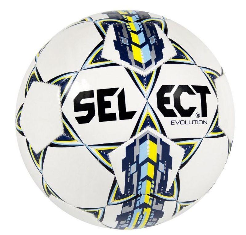 Futbalový lopta Select FB Evolution bielo modrá