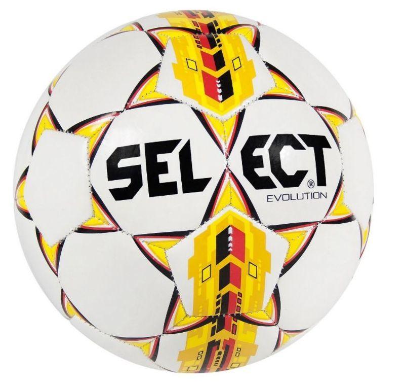 Futbalový lopta Select FB Evolution bielo žltá