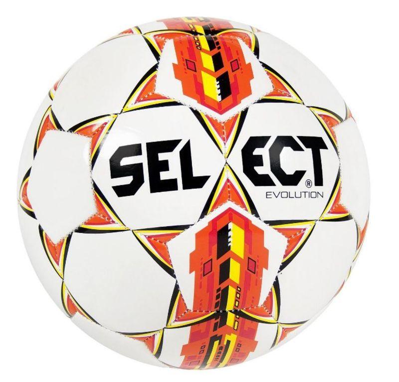 Futbalový lopta Select FB Evolution bielo oranžová