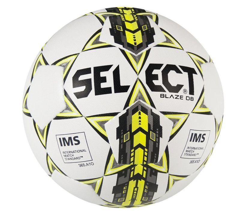 Futbalový lopta Select FB Blaze DB bielo zelená