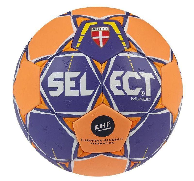Lopta Select Mundo fialovo oranžová