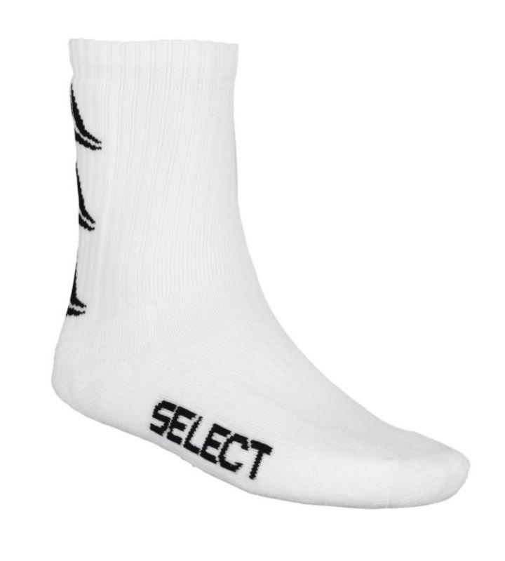 Športové ponožky Select Sports socks Ultimate biela L (41-45)