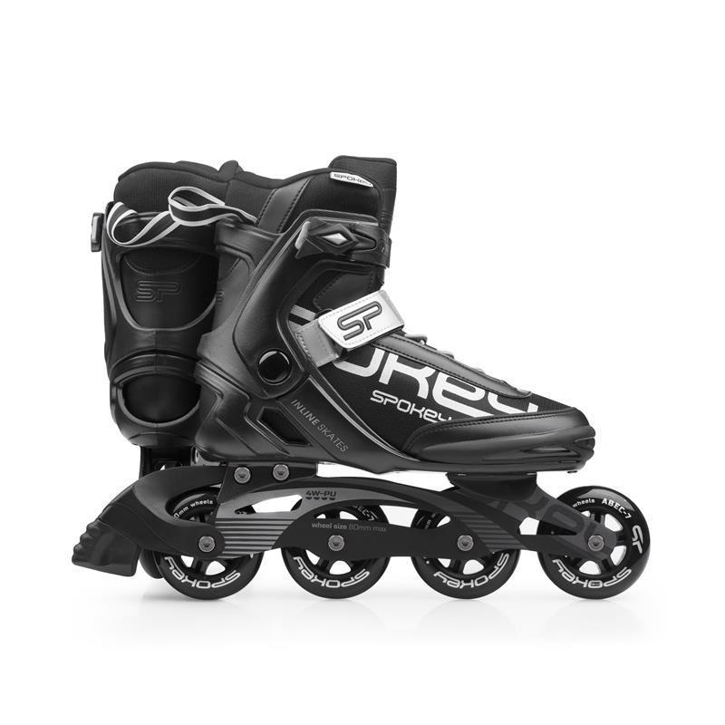 Kolieskové korčule Spokey PRIME čierne