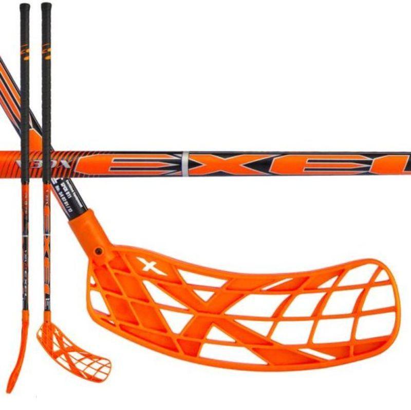 Florbalová palica Exel V30x 2.9 orange 98 ROUND SB