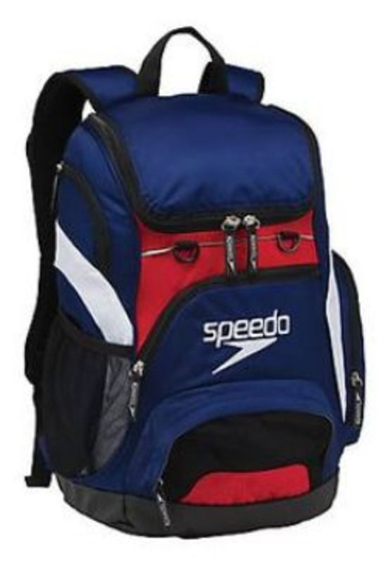 Batoh Speedo T-KIT Teamster Backpack XU Navy / red / white 68-107074006