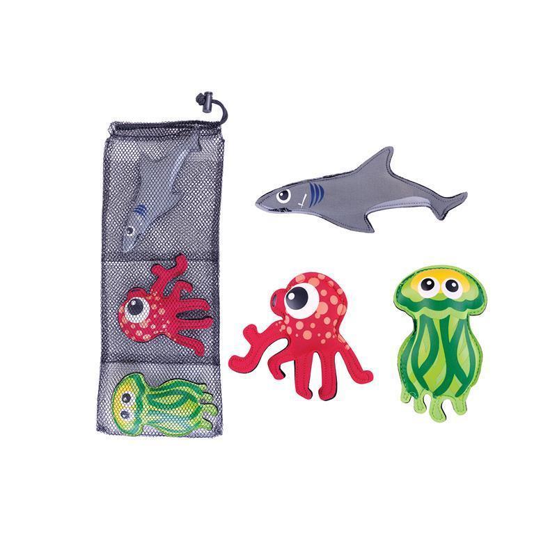 Hračky pre potápanie Spokey ZOO 2 - žralok, chobotnica, medúza