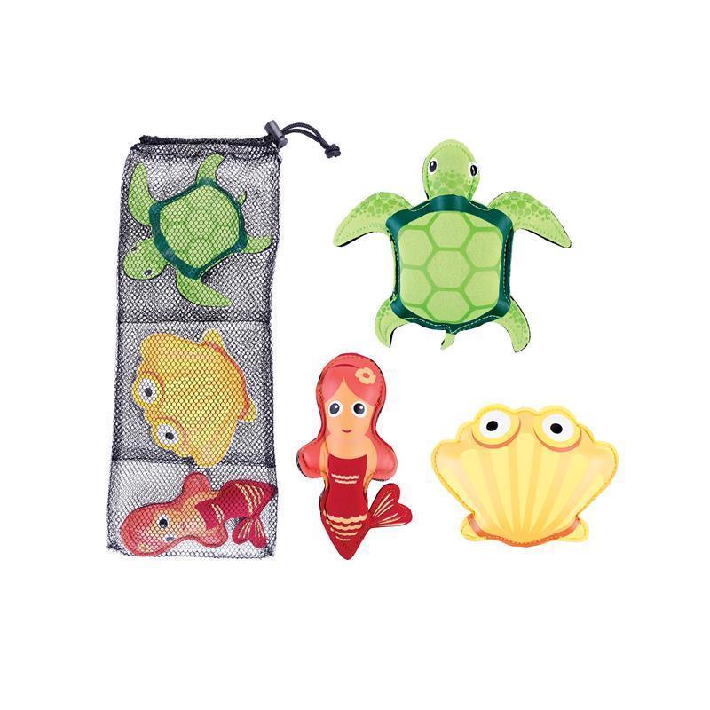 Hračky pre potápanie Spokey ZOO 1 - korytnačka, mušle, morská panna