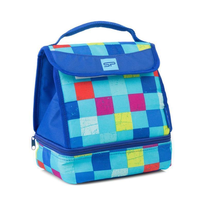 Svačinová termotaška Spokey LUNCH BOX BLUE