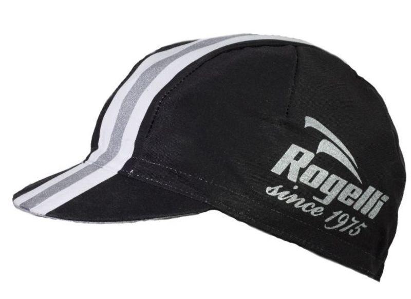Športové šiltovka Rogelli RETRO, čierna 009.955