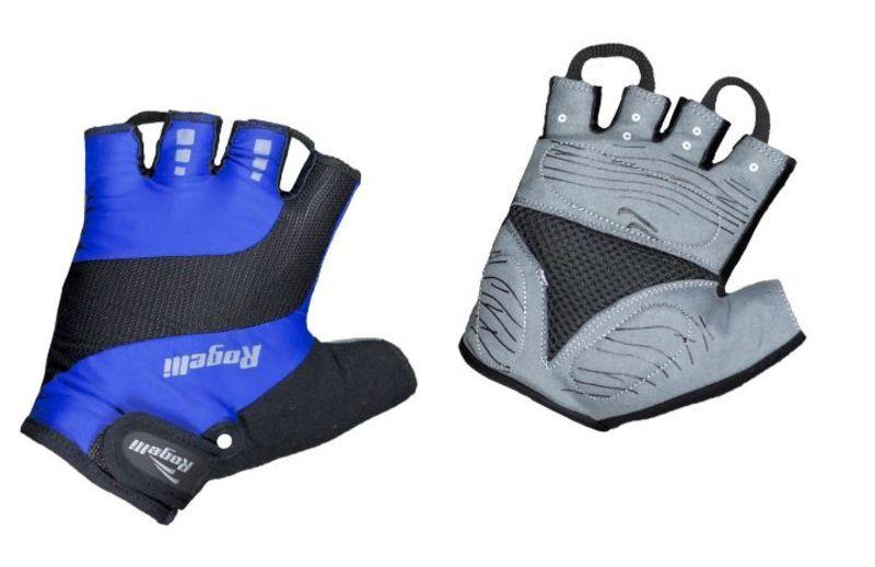 Cyklistické rukavice Rogelli PHOENIX, modré 006.011. L