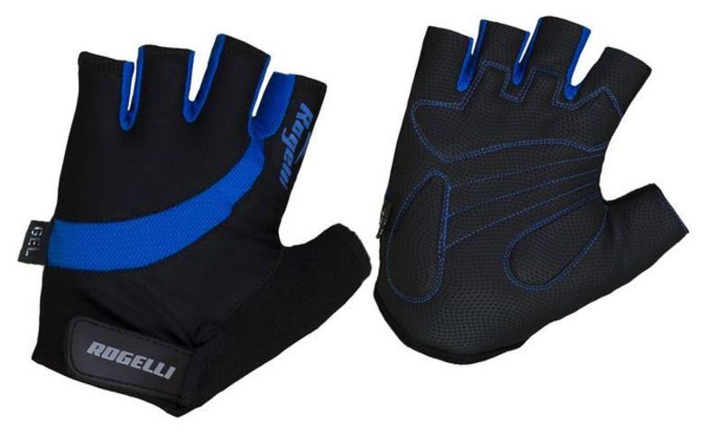 Cyklistické rukavice Rogelli STRADA, modré 006.350. M
