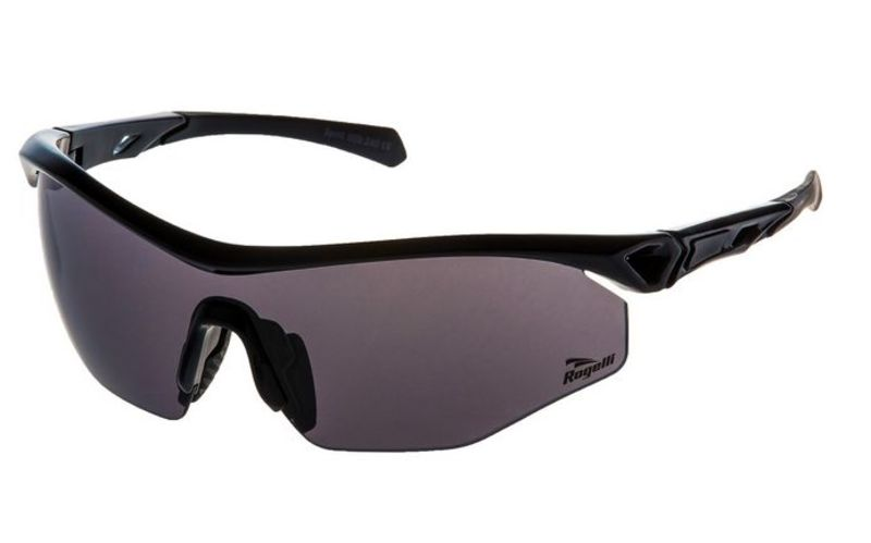 Cyklistické športové okuliare Rogelli SPIRIT s výmennými sklami, čierne 009.240.