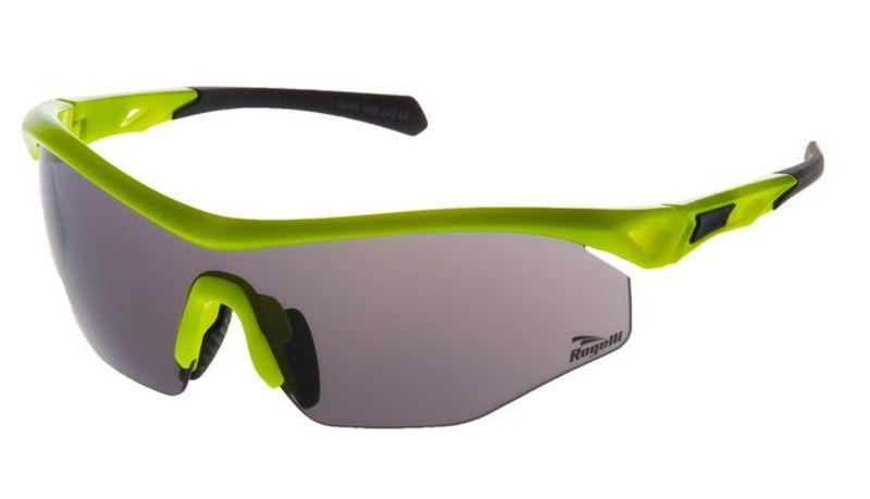 Cyklistické športové okuliare Rogelli SPIRIT s výmennými sklami, reflexná žlté 009.242.