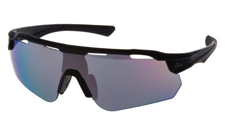 Cyklistické okuliare Rogelli MERCURY s výmennými sklami, čierne 009.244.