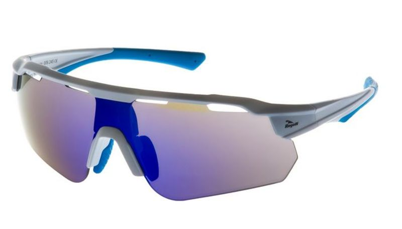 Cyklistické okuliare Rogelli MERCURY s výmennými sklami, bielo-modré 009.245.