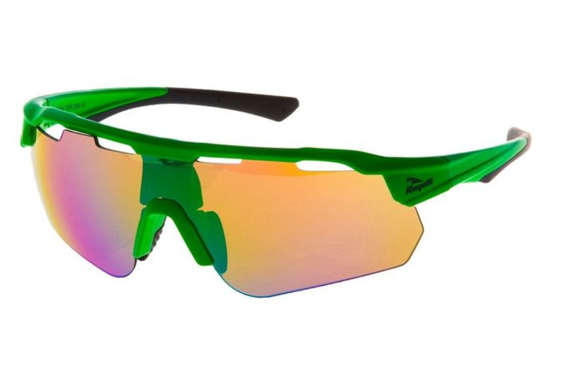 Cyklistické okuliare Rogelli MERCURY s výmennými sklami, zelené 009.246.